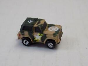 Micro Machines Military Green Camouflage Chevrolet Chevy Blazer Variation 1 1986