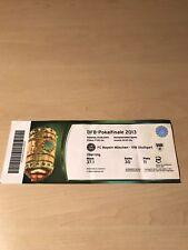 FCBayern München -VFB StuttgartDFBPokal FINALE2013 Eintrittskarte Ticket