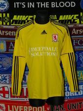 4/5 Middlesbrough Erwachsene M 2010 Torwart Fußball Shirt Trikot Jersey Fussball