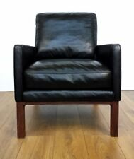 John Lewis Leather Modern Armchairs