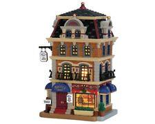 """Lemax Weihnachtsdorf Haus """" Argyle-Hotel """" beleuchtet"""