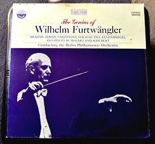 THE GENIUS OF WILHELM FURTWANGLER /THE BERLIN PHILHARMONIC ORCHESTRA SEALED LP