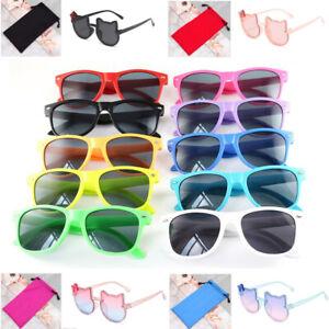 New Sunglasses Childrens Kids Girls Boys Unisex UV Sun Protection Shades Pouch