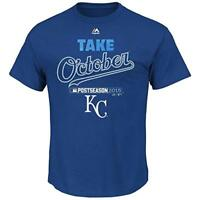 Kansas City Royals Mens Playoff Authentic Collection Take October T-Shirt 2015