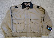 Cooper USAF Type A-2 Tan Cotton Bomber Jacket w Leather Collar Size 2XL-3XL