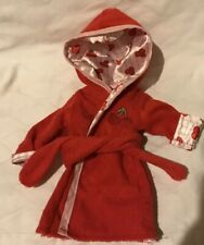 """Red And Cherry Print Our Generation 18"""" Doll Robe"""