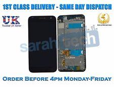 Huawei Asciende G7 G7-L01 G7-L03 Touch LCD Montaje De Pantalla Con Marco Negro