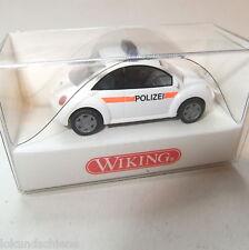 VW New Beetle  Polizei Wien  Wiking   HO 1:87 #1118