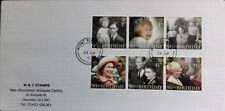 GB 2016 Set of very fine used The Queens 90th Birthday Stamps on Envelope.