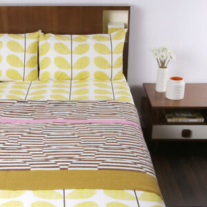 Orla Kiely Throw Stripe Flower Nutmeg