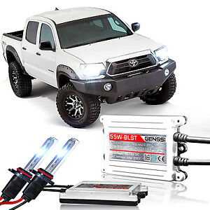 Genssi HID Xenon Conversion Kit Bulbs 55w X treme For Toyota Tacoma 2012 to 2015