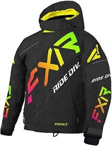 FXR Youth CX Jacket Size 10