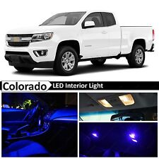 15x Blue LED Light Interior Package Kit for 2015-2017 Chevy Colorado