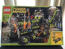 Lego Power Miners Titanium Command Rig 8964 Tremorox Glaciator