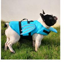 Estate Cane Vita Giacca Riflettente Ali Sicurezza Costumi da Bagno Pet Gilet Blu