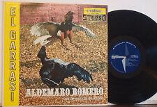 ALDEMARO ROMERO y ORQUESTA El Garrasi EXC 1958 CYMBAL LP Latin Import-Venezuela