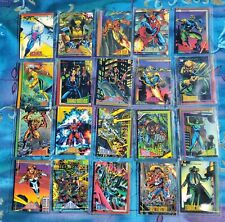 1993 SKYBOX MARVEL COMIC CARDS, LOT OF 20