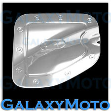 07-15 Toyota Tacoma w/Short bed only Triple Chrome Gas Door Trim Bezel Cover
