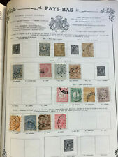 Lot anciens timbres PAYS-BAS Old Stamps NETHERLANDS