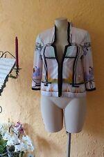 Steilmann Donna Giacca transizione tg. 38 Nuovo Multicolore Dettagli Motivo