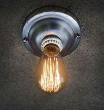 Ceiling Light Wall Lamp Flush Mount Raw steel Vintage Industrial Steampunk
