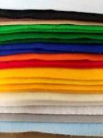 """28 Felt Sheets - Assorted Colors 12"""" x 9"""" Uncut for Crafts"""