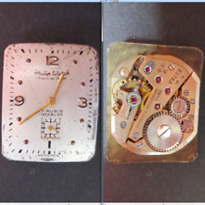 philip watch chaux fonds extra 1220 movimento movement manual old parts working