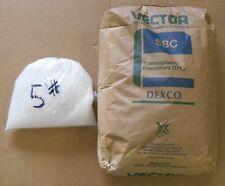 5 Lbs. Tpe Thermoplastic Elastomer White Plastic Pellets ~ Vector Sbc ~