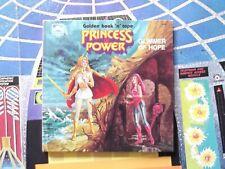 Vin She-ra Princess of Power book, GLIMMER OF HOPE, HARD COVER, EX, motu