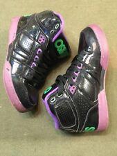 OSIRIS Skateboard Shoes EUC Men's Size 5 Women's 7 Excellent! Black Purple