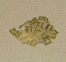 100 Gold First Class 1st Stamps unfranked off paper no gum £67 Face value