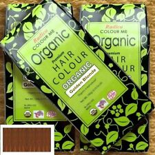 Radico Colour Me Organic Golden Braun Pflanzenhaarfarbe Goldenes Braun 100g Bio