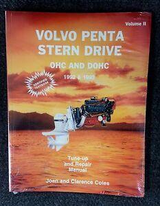 Volvo Penta - Stern Drive - Volume 2 - OHC & DOHC - 1992 & 1993