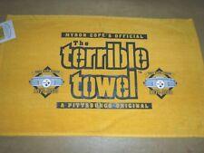 RARE PITTSBURGH STEELERS TERRIBLE TOWEL THREE RIVERS STADIUM 1970-2000 STEELERS