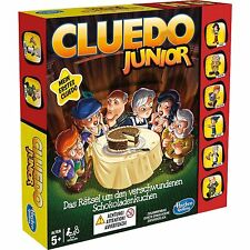 Hasbro Gaming Cluedo Junior, Brettspiel