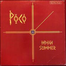 Poco Indian Summer ABC Promo LP