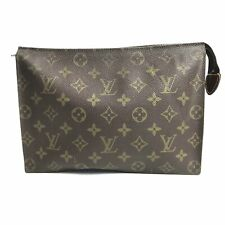 Louis Vuitton monogram pochette Towaretto M47542 square pouch Used (829-7