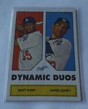 2006 Topps DYNAMIC DUOS # DD12 52 Style MATT KEMP SP ROOKIE DODGERS MINT RC