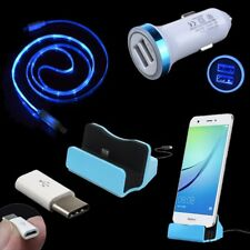 Charging Dock Micro Cable Type C Converter Car Adapter for Moto Z2 Play Z Force
