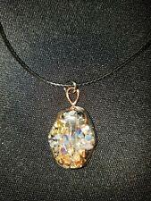 orgone pendant healing emf protection chi crystal energy gemstone OOAK  shungite