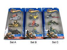 Hot Wheels DieCast Material Motorcycles & ATVs
