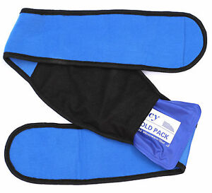 Reusable Ice Pack Gel Pack for Hot & Cold Therapy Heat Pad or Cold Wrap Knee Hip