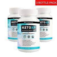Keto Xp Keto Pills Boost Weight Loss Diet Pills Best Keto XP BHB Supplement x 3