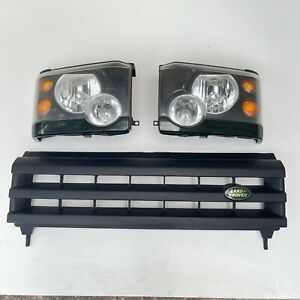 2003 - 2004 Land Rover Discovery 2 II Halogen Headlight Grille Conversion Kit