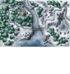 ICEWIND DALE GAMING MAT - 5e - DUNGEONS & DRAGONS