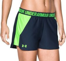 Under Armour Play Up 2.0 Womens Running Shorts - Blue