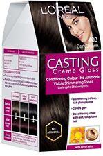 L'Oreal Paris Casting Creme Gloss, Dark Brown 400, 87.5G+72Ml With Ayur Product