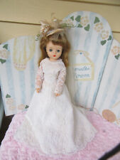 """Belle Co Margie/Marjorie,Cissy/Une eda face vintage 17"""" fashion bride doll"""