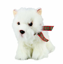 Plush Dog West Highland Terrier Soft Cute Collectible Toy Stuffed Animal Branded