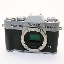 Fujifilm Fuji X-T20 24.3MP Mirrorless Digital Camera Body (Silver) #171
